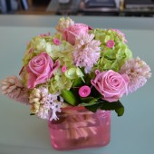 Buttons & Blooms Vase