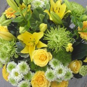 Yellow & Lime Bouquet