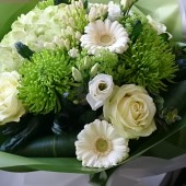 White & Lime Bouquet