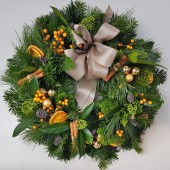 Classic Christmas Door Wreath Afternoon Workshop | Sunday 2/12/18