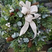 Luxury Christmas Door Wreath Workshop | Sunday 9/12/18