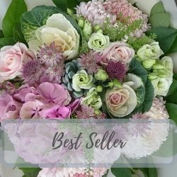 Blushing Blooms Hand-tied