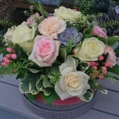 Signature Hatbox Arrangement