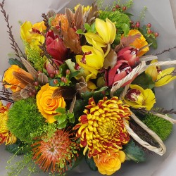 Harvest Gold Hand-tied