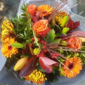 Sunset Blaze Hand-tied