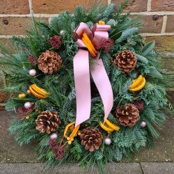 Christmas Door Wreath Making Workshop