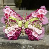 Butterfly Floral Tribute