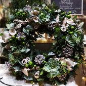 Luxury Christmas Door Wreath Workshop | Sunday 8/12/19