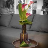 Sleek Calla Lily Vase