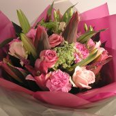 Pink Hand-tied Bouquet