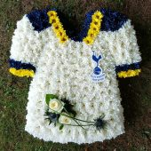 Tottenham Shirt Floral Tribute