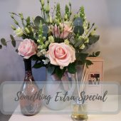 Pretty Rose & Lisianthus Jug Luxury Gift Set