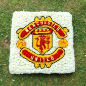 Manchester United Floral Tribute
