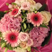 Lush Pink Hand-tied